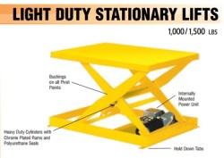 light duty stationary lift