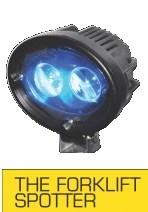 Forklift Spotter Blue Light