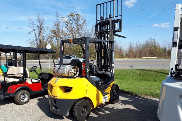 New Komatsu Forklift