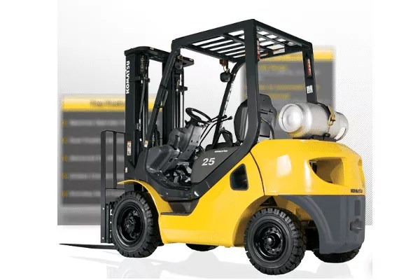 Komatsu Pneumatic Tire Forklift