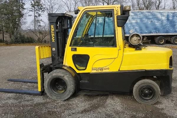 Hyster H120XM Forklift