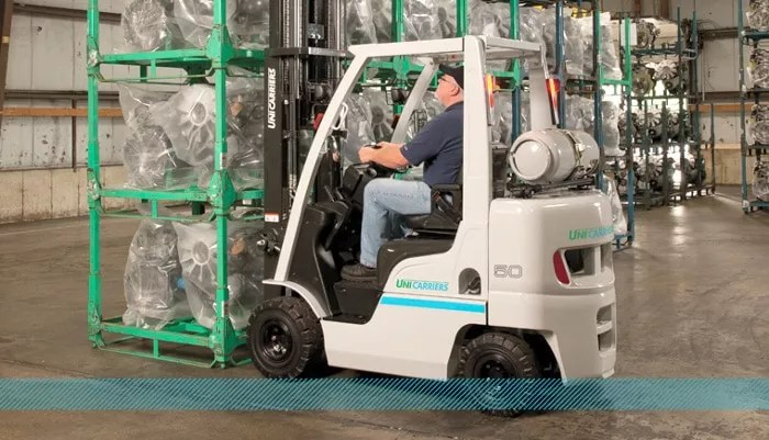Unicarriers Nomad Pneumatic Tire Forklift