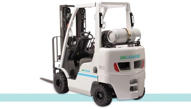 Unicarriers Nomad Forklift