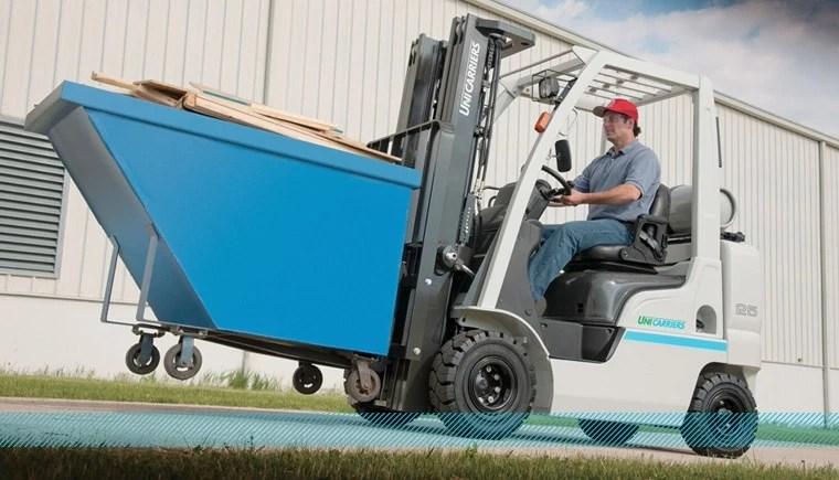 Unicarriers - Platinum II Pneumatic Tire Forklift