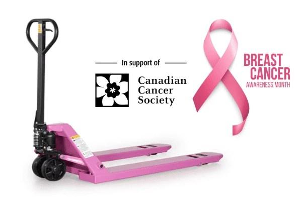 Pink Pallet Truck