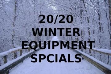 Winter Equipment Specials