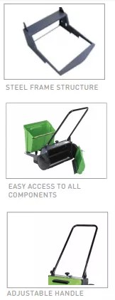 510M - Manual Sweeper features