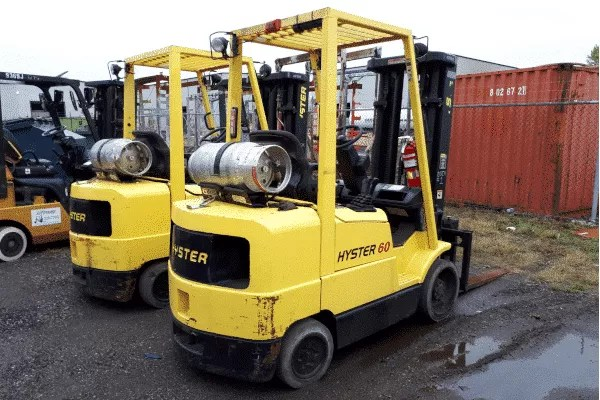 Hyster S60XM Used Forklift