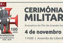 CERIMÓNIA MILITAR | Evocativa do fim da Grande Guerra