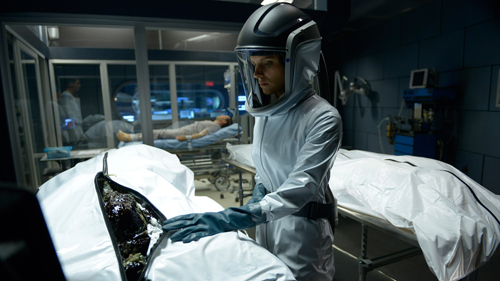 "HELIX -- ""Pilot"" Episode 101 -- Pictured: -- (Photo by: Philippe Bosse/Syfy"