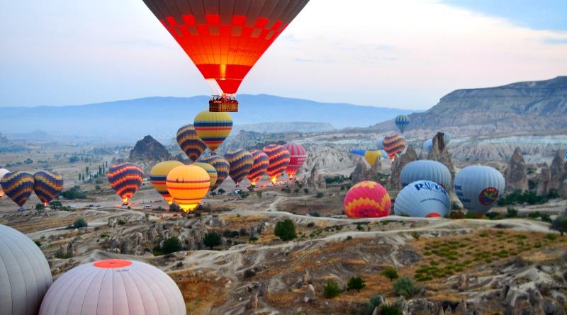 Passeio Balão Capadócia Turquia