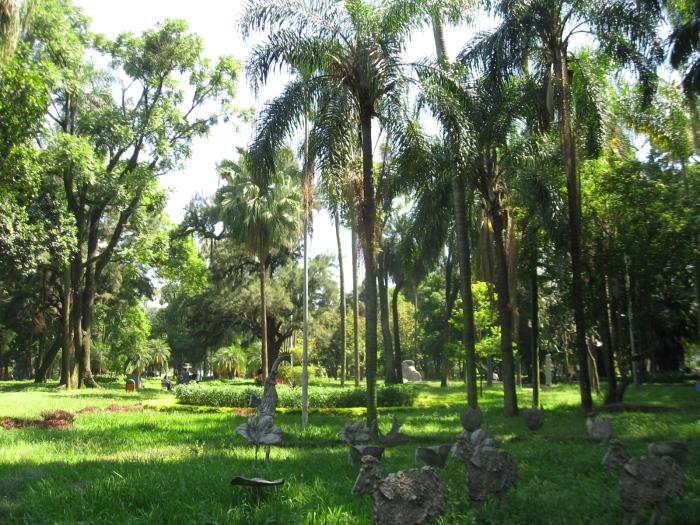 Herança do jardim botânico