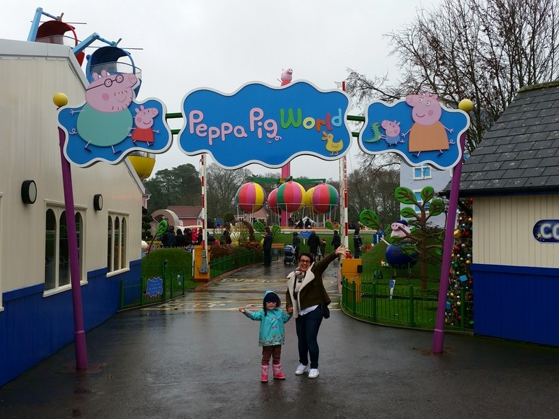 Parque da Peppa Pig World - Entrada