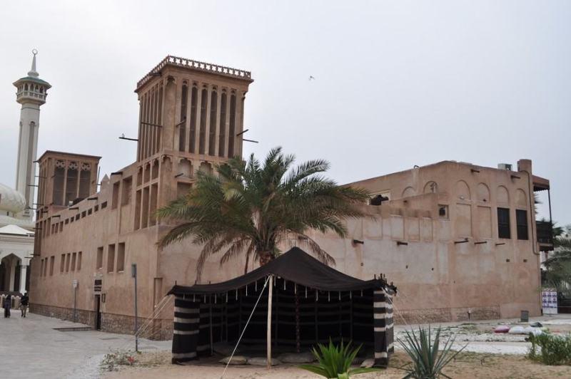 Dubai de graça - Exemplo de edificação em Al Bastakiya