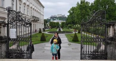 Cantando Do-Re-Mi nos Jardins do Palácio Mirabell