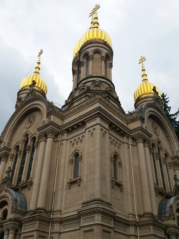 Wiesbaden na Alemanha - Igreja Russa Ortodoxa