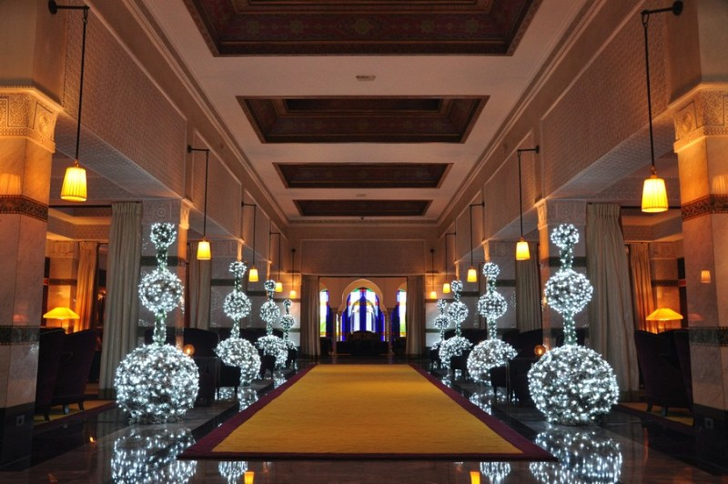 Natal em Marrocos - Chá da tarde no Hotel La Mamounia