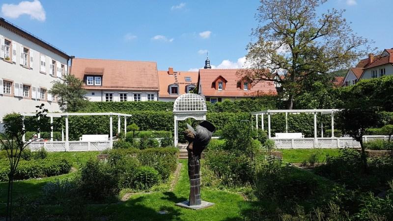 Castelo de Ettlingen Alemanha - Rosegarten