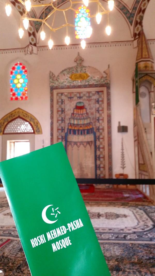 Viagem Mostar Bósnia e Herzegovina - Mesquita Koski Mehmed Pasa
