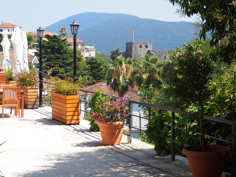 Herceg Novi em Montenegro