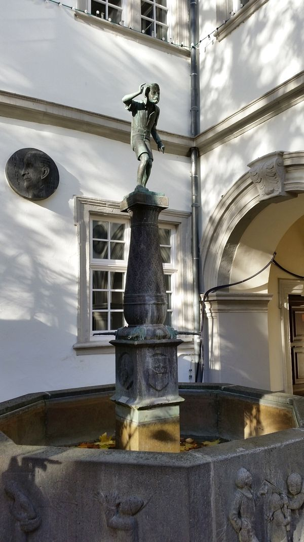 Koblenz Alemanha - Schängelbrunnen