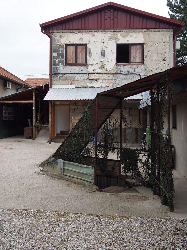Túnel da Esperança em Sarajevo na Bósnia e Herzegovina - Casa onde ficava o túnel dentro do Cerco