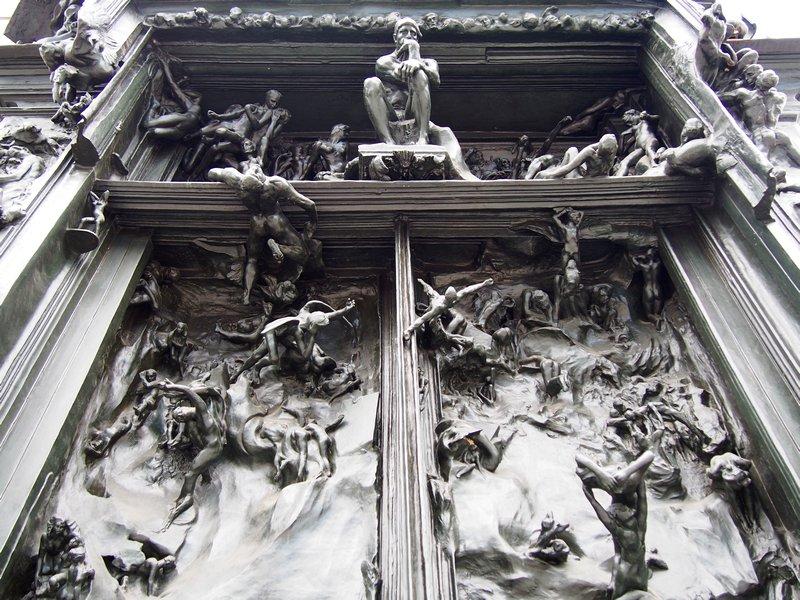 O que fazer em Zurique- Kunsthaus - As portas do Inferno