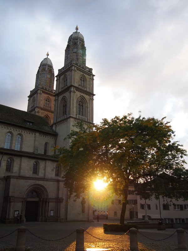 O que fazer em Zurique - Pôr do sol