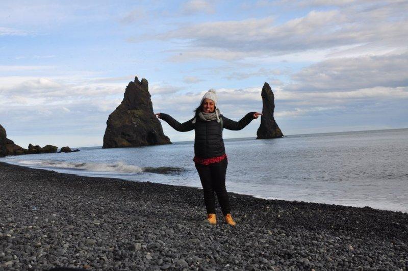 viagem islandia reynisfjara - paisagens lindas