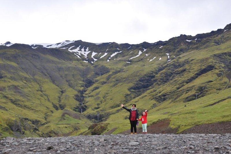 viagem islandia seljavallalaug - a caminho da piscina natural