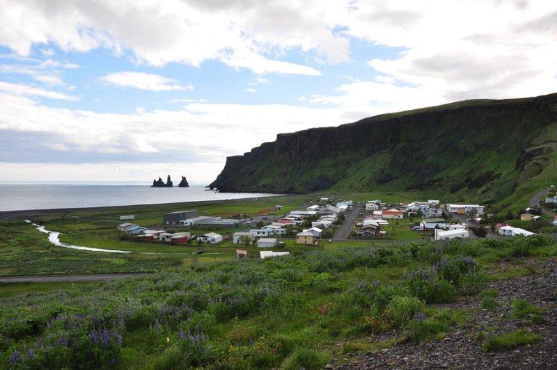 viagem islandia vík í mýrdal - cidade pequena que vale a parada