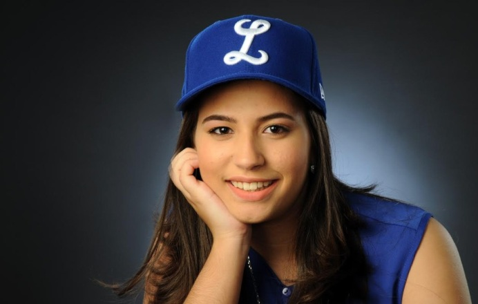 Isabelle Marie Ravelo Nadal, madrina 2016-17 del Licey