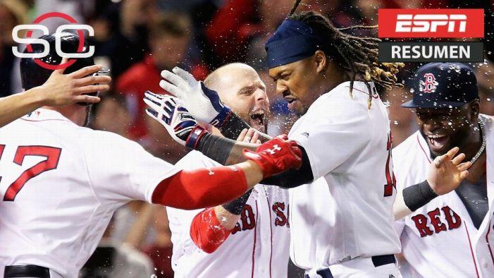 Medias Rojas sacó triunfo y dejó tendido a Yankees