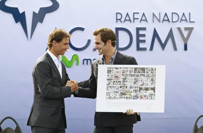 """Nadal inaugura junto a Federer su Academia: """"Es un sueño hecho realidad"""""""