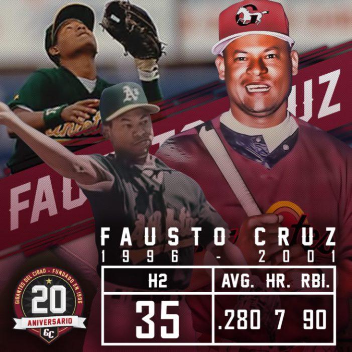 Gigantes retirarán el No. 7 de Fausto Cruz esta noche