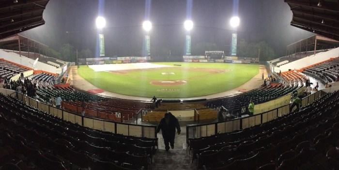 Suspenden por lluvias juegos del round robin del béisbol dominicano
