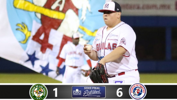 LMP: Solano ayudó a Mexicali a empatar la serie final vs. Los Mochis