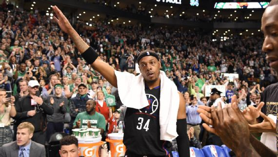 #NBA Paul Pierce tiene emotiva despedida de Boston