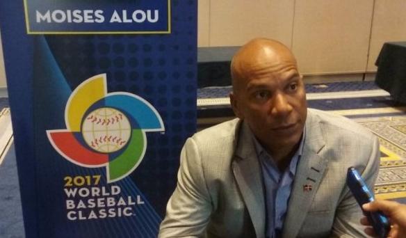 Moisés Alou confiado en calidad equipo dominicano para el Clásico