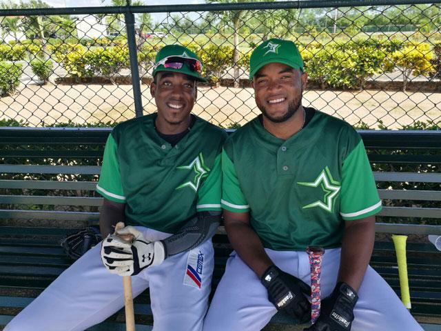 Brito y Guerrero aseguran están listos para ayudar Estrellas