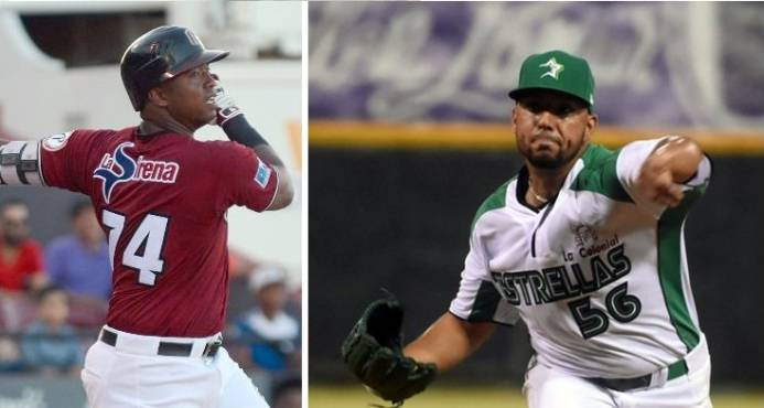 Jiménez y Cortés, Peloteros Estrellas de la Semana