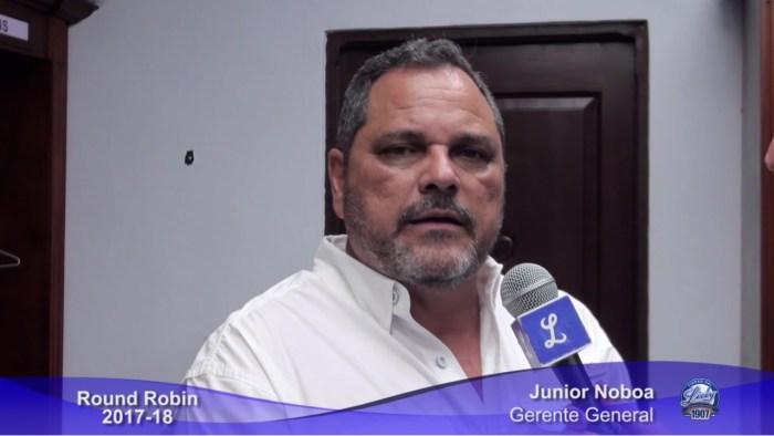 """""""Nos falta el paso más importante"""", Junior Noboa"""