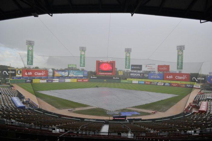 Lluvia retrasa el partido entre Águilas Cibaeñas y Tigres del Licey