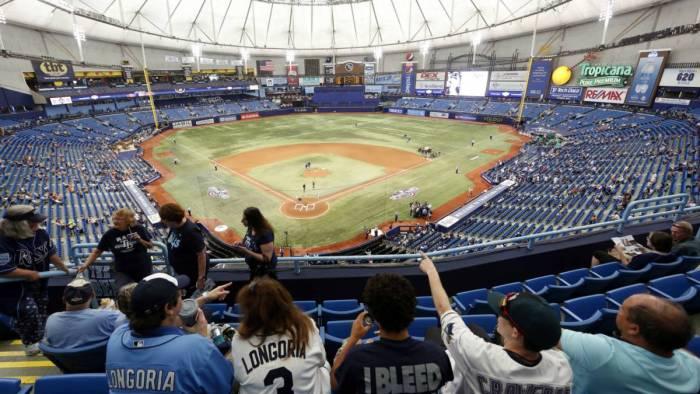Los Tampa Bay Rays buscarán mudarse, ¿a Tampa?