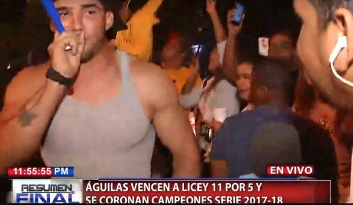 Fanáticos de Las Águilas se lanzan a las calles a celebran triunfo