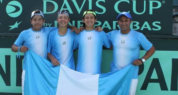 Guatemala venció a Dominicana en la Copa Davis Junior