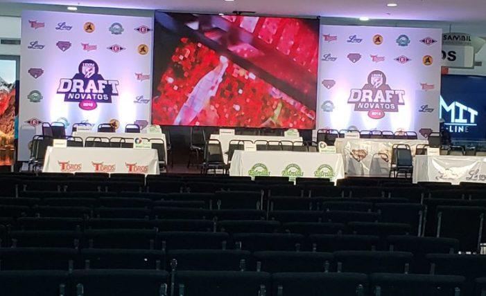 Todo listo para la decimoséptima versión del DRAFT en vivo por CDN Sportsmax