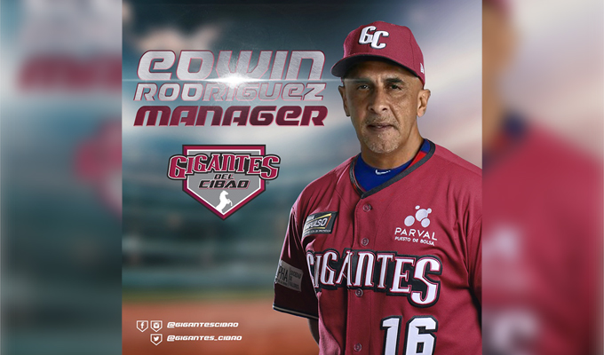 Edwin Rodríguez vuelve a dirigir con el apoyo de su esposa