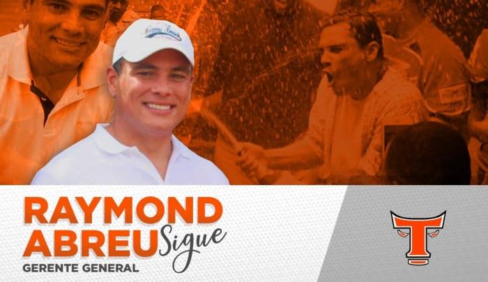 Raymond Abreu regresa como gerente general Toros del Este