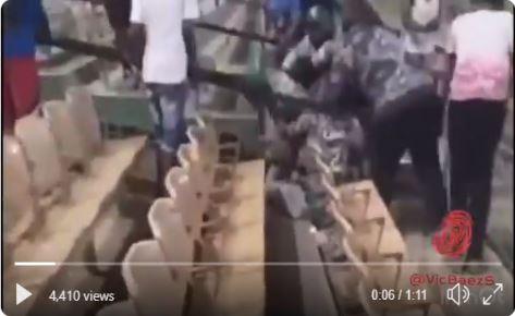 Pelotero de la Liga Dominicana de Béisbol intentó golpear a Ampayer
